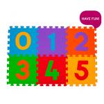 paklājiņš-puzzle Cipari -6 plāksnes  Babyono 275