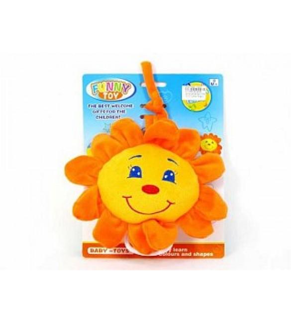 """Muzikālā plīša rotaļlieta """"Saulīte"""" EC014920"""