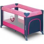 Saliekamā gulta STEFI pink rose Lionelo