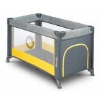 Saliekamā gulta STEFI yellow Lionelo