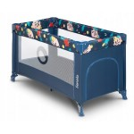 Saliekamā gulta STEFI blue navy Lionelo
