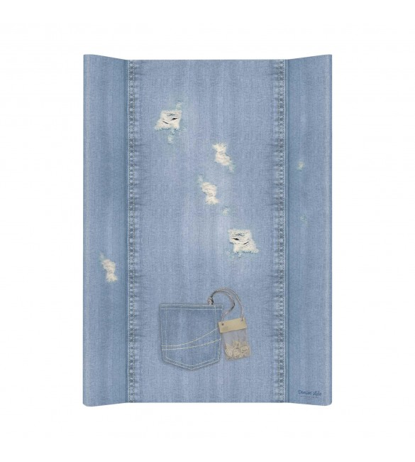 Pārtinamais dēlis DENIM SHABBY blue 50х70 cm Ceba Baby (200)