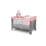 Ceļojumu gulta FLOWER flamingo Lionelo