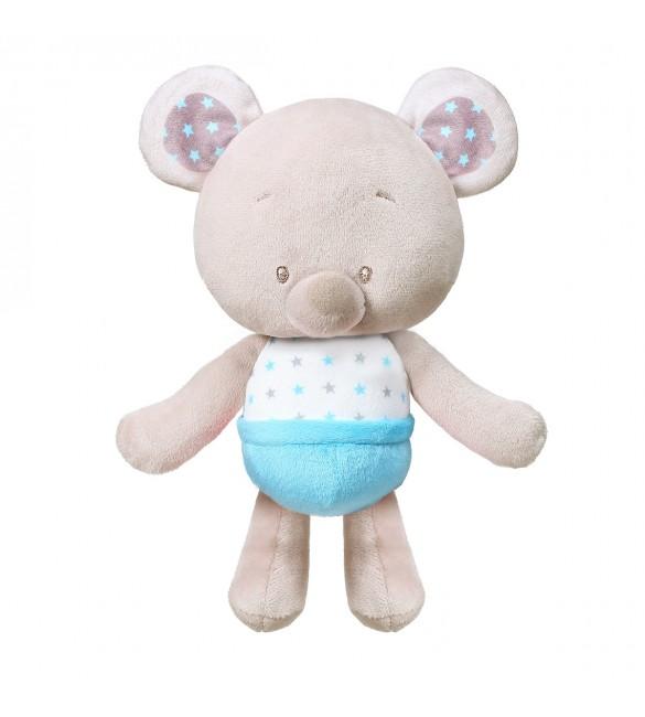 Mīksta rotaļlieta BEAR TONY  (ar grabuli) BabyOno 1228