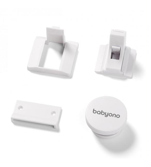 Magnētiskās slēdzenes (4 gab.) BabyOno 946