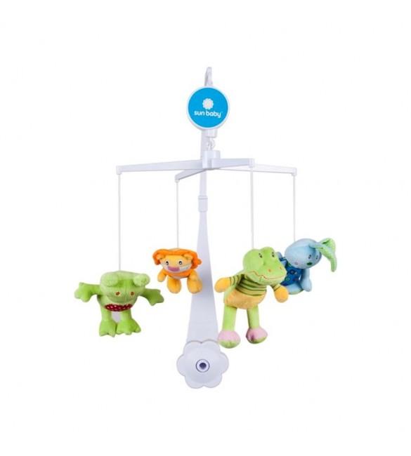"Muzikālais karuselis ""FROG&Co"" SunBaby B10.002.1.1"