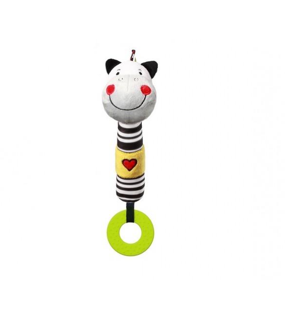 Pīkstulis Zebra ZACK BabyOno 634 (С: MORE)