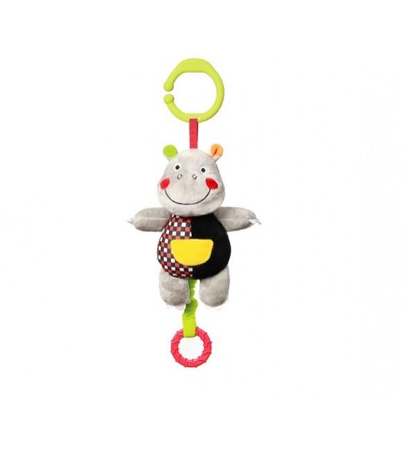 Rotaļlieta muzikālā HIPPO ALBERT BabyOno 639  (С: MORE)