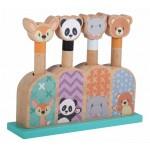 Koka rotaļlieta Pop Up Animals SunBaby E01.070.1.1