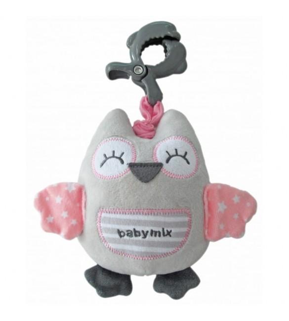 Rotaļlieta ar mūziku SLEEPY OWL Babymix 1251-6700