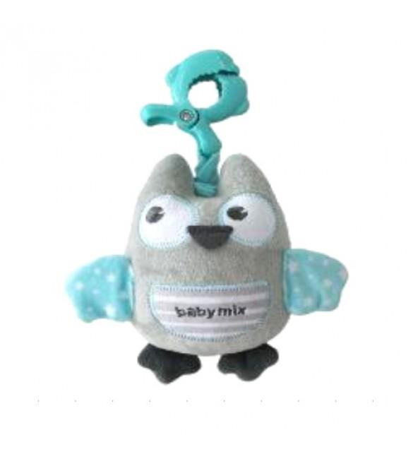 Rotaļlieta ar mūziku PEPPY OWL Babymix 1252-6700