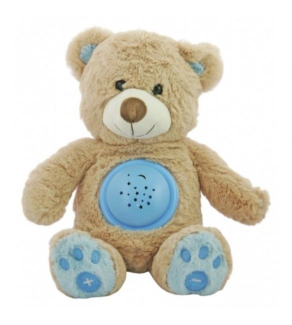 """Projektors ar mūziku """"BEAR HADI"""" BabyMix 18956 blue"""