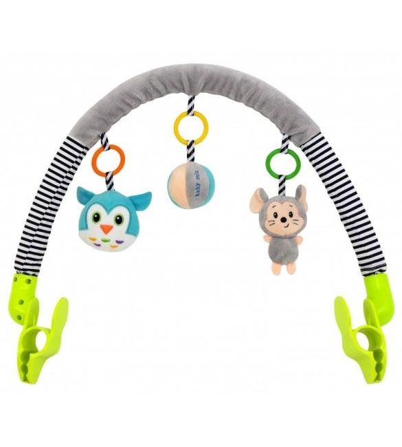 Rotaļlietu loks ratiņiem , autosēdeklim Baby Mix  8544-94