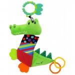 Attīstošā rotaļlieta ar vibrāciju KROKODILS 8567-33 BabyMix