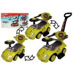 Stumjamā mašīna 3in1 MEGA CAR yellow 94787