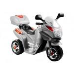 Motocikls ar akumulatoru HC8051 silver (2070)