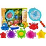Rotaļlietas vannai ar tīkliņu 89512