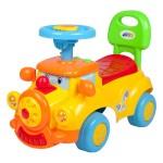 Stumjamā mašīna HAPPY LOKO yellow 33748