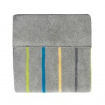 sega kokvilnas 100x150 cm GREY/BLUE STRIPES KB-068 Womar
