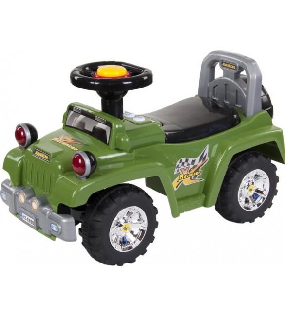 Stumjamā mašīna JEEP SunBaby J05.002.1.3 green