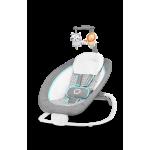 atpūtas krēsliņš PASCAL grey scandi Lionelo