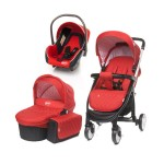 4baby ATOMIC TRIO  (3in1)  red