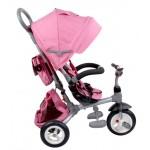 LITTLE TIGER T500P melange pink SunBaby J01.015.1.10 (pumpējamie riteņi)