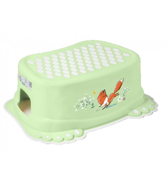 Pakāpiens-step  FOREST FAIRYTALE light green Tega Baby FF-006