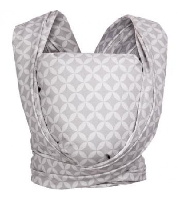 Lakats-slings BE CLOSE Zaffiro grey rhombuses CH-013 WOMAR