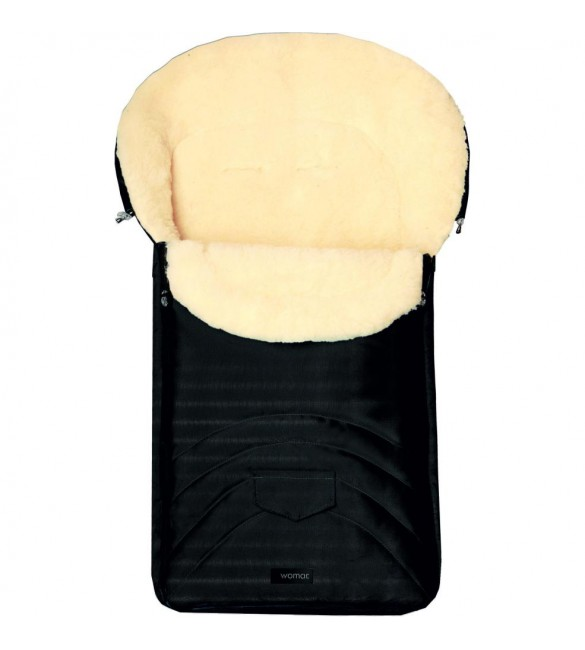 Guļammaiss EARLY SPRING Wool  Black S8-017  Womar