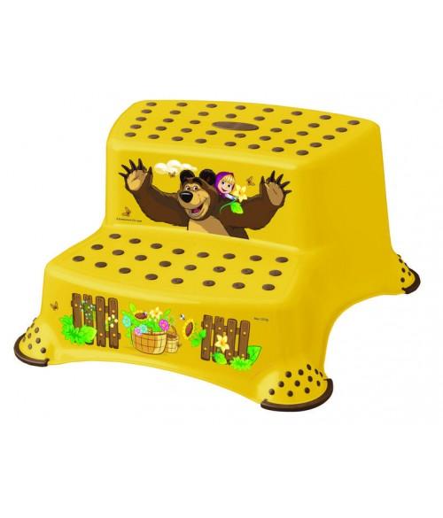 """Pakāpiens-step """"M&B"""" DUO yellow KEEPER"""
