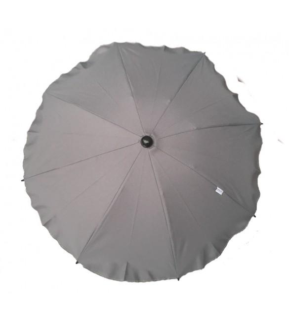 Saulessargs ratiņiem ROUND CAM109 grey