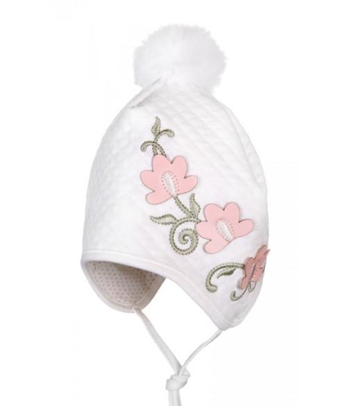 """Cepure """"JUSTYNA"""" siltināta, izmēri 41-47 cm"""