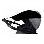 Saules aizsargs-nojume ratiņiem CAM114 black