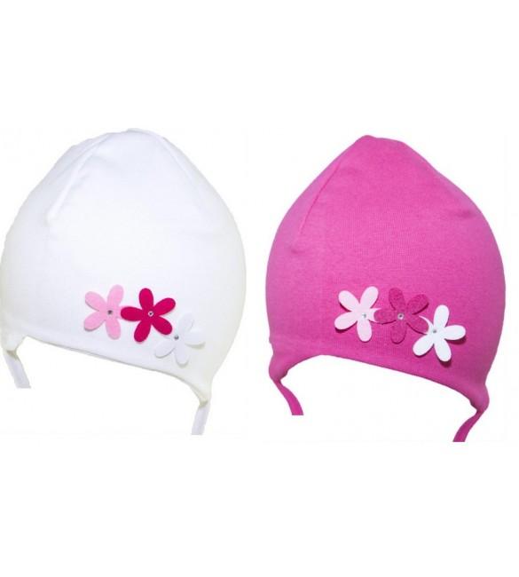 """Cepure """"FLOWER"""" CDA-072 ,  40-42 cm  (dubultā)"""