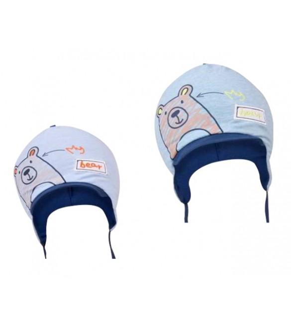 "Cepure ""MY BEAR' CDA-628    44-46 cm  (dubultā)"