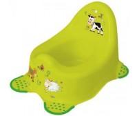 Bērnu podiņš FUNNY FARM green Keeeper