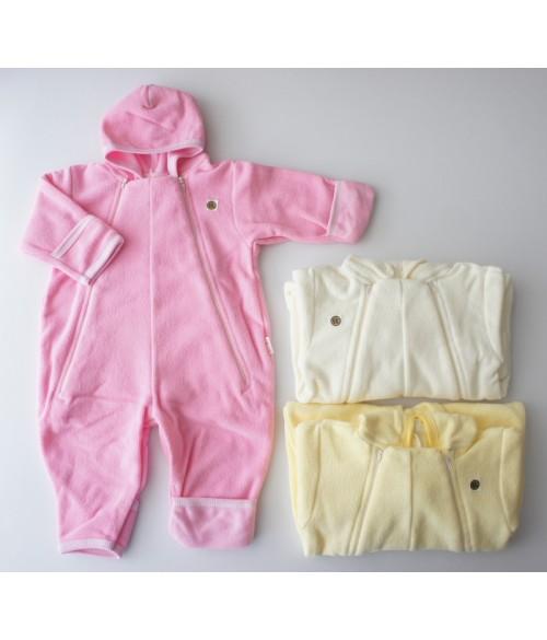 Kombinezons termofrotē ar kapuci , izmēri 68-80 MARGO 20014 (dažādas krāsas)