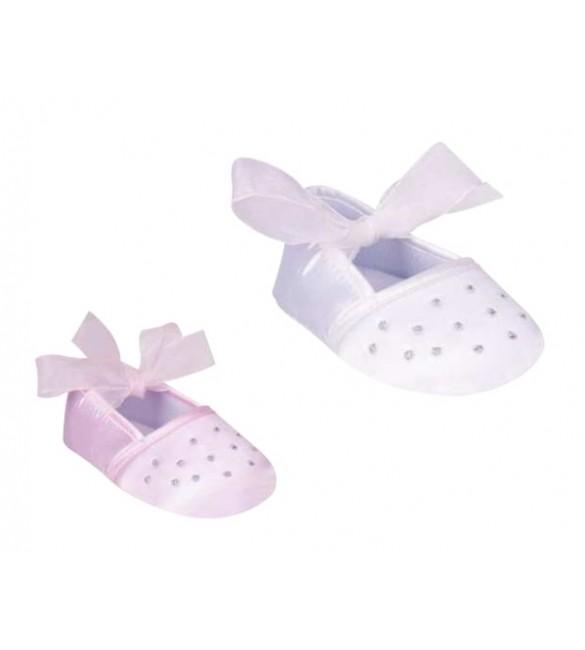 zīdaiņu kurpītes ar banti OB-061