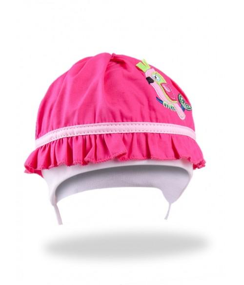 "Cepurīte ""PINK PARROT"" 40-44 cm CLU-067"