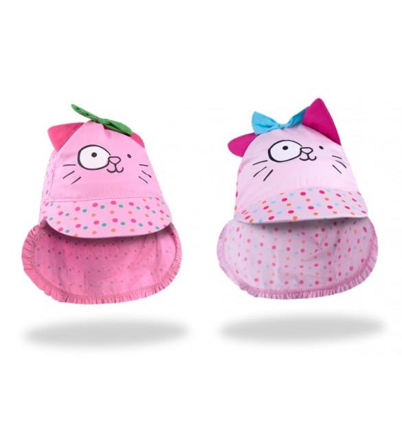 "Cepure-bandana ""PINK CAT"" 40-44 cm CLE-097"