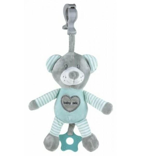 Rotaļlieta ar mūziku BEAR mint Babymix 19393MB