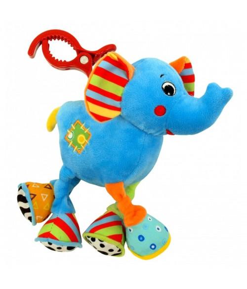Attīstošā rotaļlieta ar vibrāciju ELEPHANT 8562A-20 (34533)