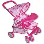 Leļļu ratiņi Baby Mix  9304BWT-M1104W