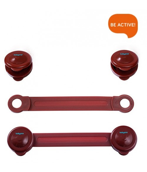 Universālā slēdzene ( 2 gab. ) , BabyOno 953/02 brown