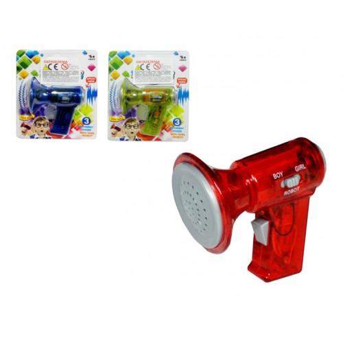 Mini-megafons, modelējošs balsi (~8 cm) G2214