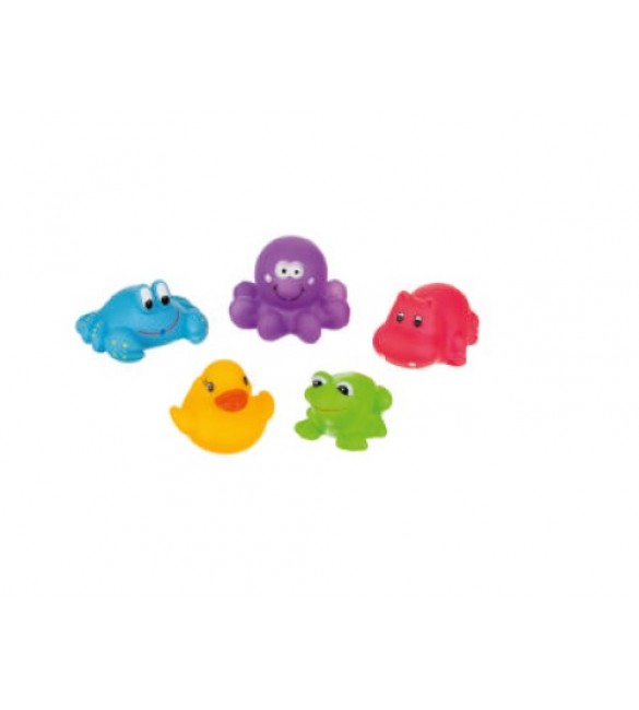 Rotaļlietas vannai (5gab) AKUKU-A0363