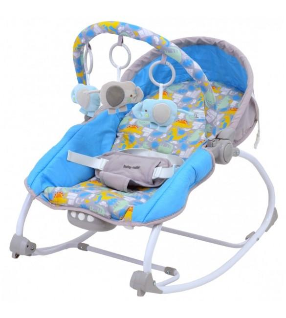 Atpūtas krēsliņš BABY MIX BR212-18 DINO (0-18kg)