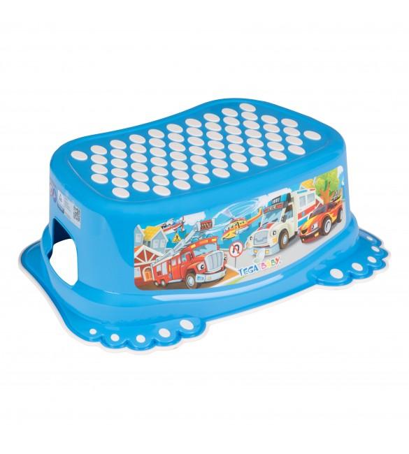 Pakāpiens-step CARS blue TegaBaby  CS-006