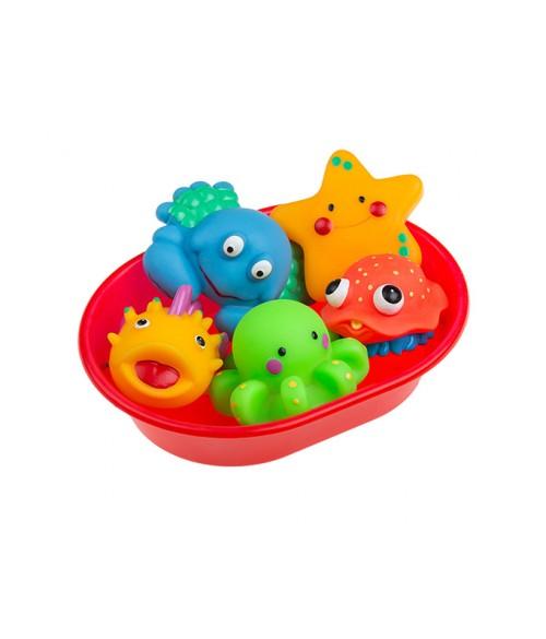 Jūras dzīvnieciņi vanniņā TULLO-125